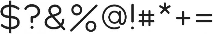 Cake Sans otf (400) Font OTHER CHARS