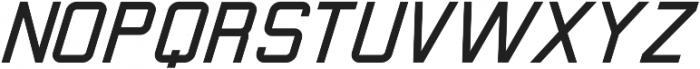Calabasas Italic ttf (400) Font UPPERCASE