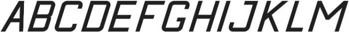 Calabasas Italic ttf (400) Font LOWERCASE