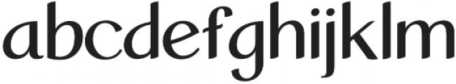 Calaiso Regular otf (400) Font LOWERCASE
