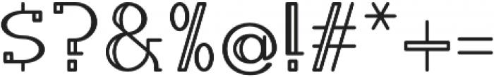 Calamandria otf (400) Font OTHER CHARS