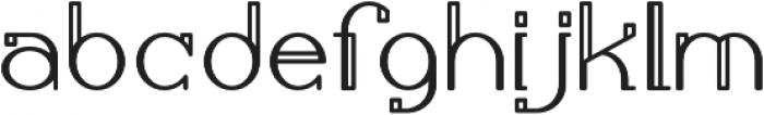 Calamandria otf (400) Font LOWERCASE