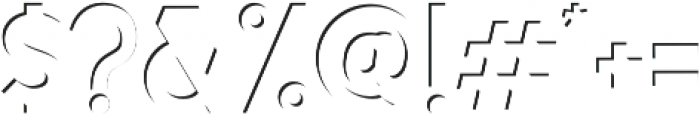 Calasans 01 Inside otf (400) Font OTHER CHARS
