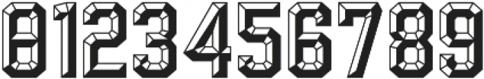Calcuta_Filled ttf (400) Font OTHER CHARS