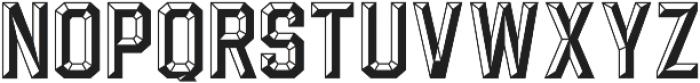 Calcuta_Filled ttf (400) Font UPPERCASE