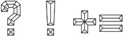 Calcuta_Line ttf (400) Font OTHER CHARS