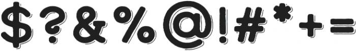 Calder Dark Shadow otf (400) Font OTHER CHARS