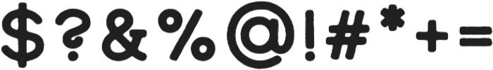 Calder Dark otf (400) Font OTHER CHARS