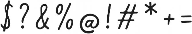 Calder Script otf (400) Font OTHER CHARS