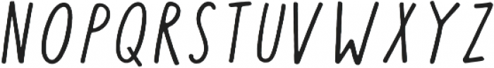 Calder Script otf (400) Font UPPERCASE