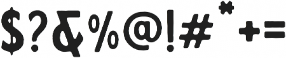 Calderock Inky otf (400) Font OTHER CHARS