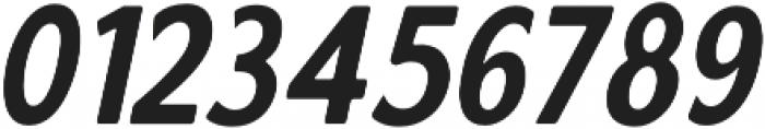 Calderock Rounded Slant otf (400) Font OTHER CHARS