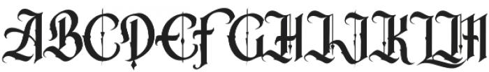 California Freestyle Regular otf (400) Font UPPERCASE