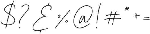 California Girl Regular otf (400) Font OTHER CHARS
