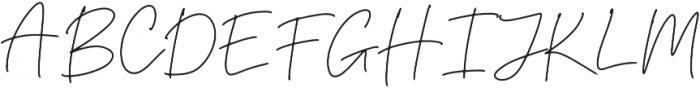California Girl Regular otf (400) Font UPPERCASE