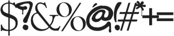 California Graffiti Font otf (400) Font OTHER CHARS