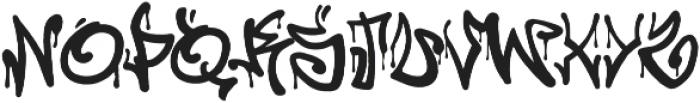 California Graffiti Font otf (400) Font UPPERCASE