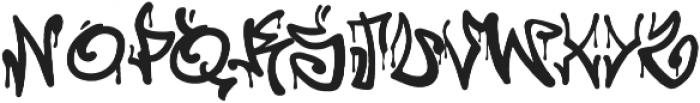 California Graffiti Font otf (400) Font LOWERCASE