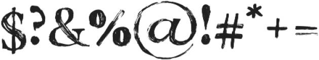 California Palms Marker Serif otf (400) Font OTHER CHARS