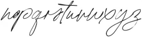 California Palms Script SVG otf (400) Font LOWERCASE
