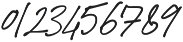 California Palms Script Thicker otf (400) Font OTHER CHARS