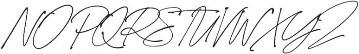 California Palms Script Thicker otf (400) Font UPPERCASE