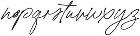 California Palms Script Thicker otf (400) Font LOWERCASE