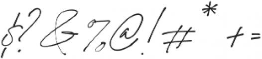 California Palms Script otf (400) Font OTHER CHARS