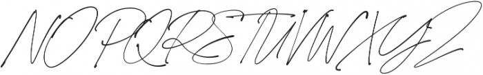 California Palms Script otf (400) Font UPPERCASE