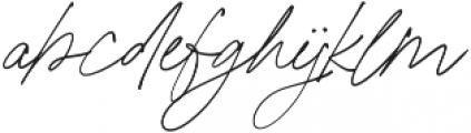 California Palms Script otf (400) Font LOWERCASE