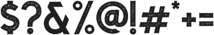 Caligor Sans Stamp otf (400) Font OTHER CHARS