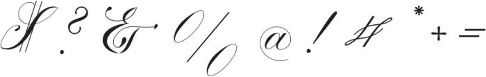 Calissa Pro otf (400) Font OTHER CHARS