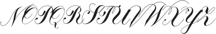 Calissa Pro otf (400) Font UPPERCASE