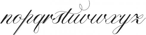 Calissa Pro otf (400) Font LOWERCASE