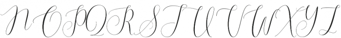 Callem Script otf (400) Font UPPERCASE