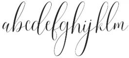 Callem Script otf (400) Font LOWERCASE