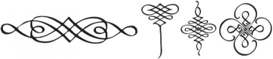 CalligraphiaLatina Regular otf (400) Font OTHER CHARS