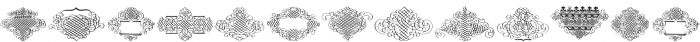 CalligraphiaLatina Regular otf (400) Font UPPERCASE