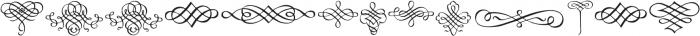 CalligraphiaLatina Regular otf (400) Font LOWERCASE