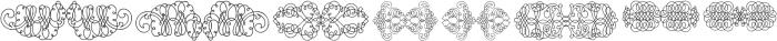 CalligraphiaLatinaSoft2 Regular ttf (400) Font OTHER CHARS