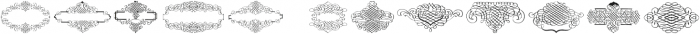 CalligraphiaLatinaSquareEdition Regular ttf (400) Font UPPERCASE