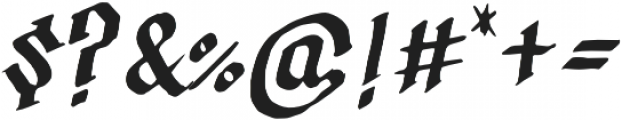 Calligraphica Regular otf (400) Font OTHER CHARS