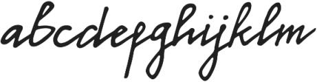 Callison Regular otf (400) Font LOWERCASE