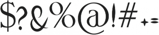 Callisugan otf (400) Font OTHER CHARS