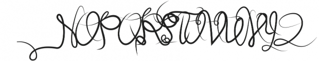 Callisugan otf (400) Font UPPERCASE