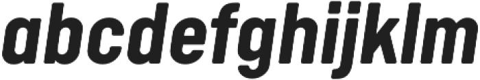 Calps Bold Italic otf (700) Font LOWERCASE