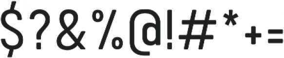Calps SemiLight otf (300) Font OTHER CHARS