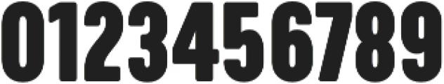 Calps Slim Black otf (900) Font OTHER CHARS