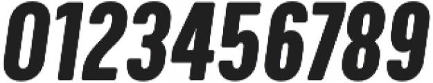 Calps Slim Bold Italic otf (700) Font OTHER CHARS