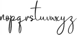 Cambridge ttf (400) Font LOWERCASE